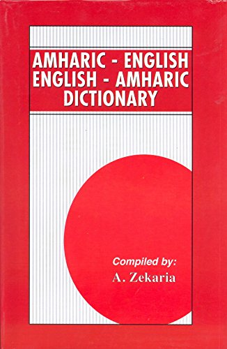 9780781801157: Dictionary Amharic-English English-Amharic
