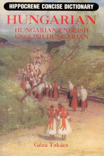 9780781803175: Hungarian-English, English-Hungarian (Hippocrene Concise Dictionaries)