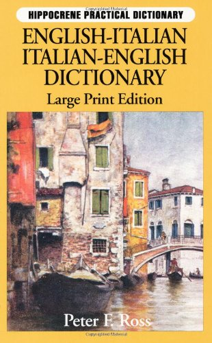 9780781803540: Italian : English-Italian Italian-English (Hippocrene Practical Dictionary