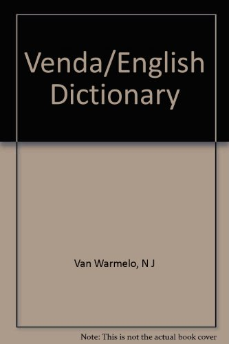 9780781803939: Venda Dictionary Tshivenda-English