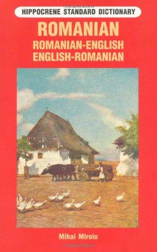 Romanian-English, English-Romanian Dictionary (Hippocrene Standard Dictionary)