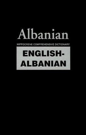 9780781805100: English-Albanian: Hippocrene Comprehensive Dictionary (English and Albanian Edition)