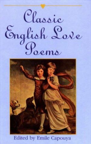 9780781805728: Classic English Love Poems