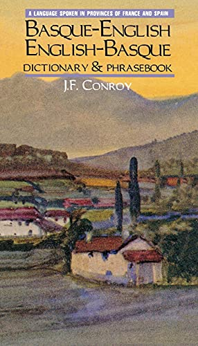 9780781806220: Basque-English English-Basque Dictionary and Phrasebook