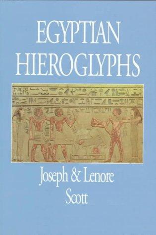 9780781806299: Egyptian Hieroglyphs