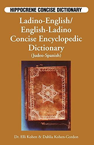 9780781806589: Ladino-English/English-Ladino Concise Dictionary (Hippocrene Concise Dictionary)