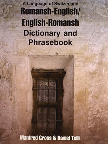 9780781807784: Romansh-English/English-Romansh Dictionary and Phrasebook