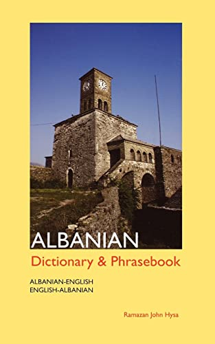 Albanian-English, English-Albanian Dictionary and Phrasebook (Dictionary &: Hysa, Ramazan