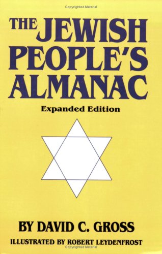 9780781809009: The Jewish People's Almanac