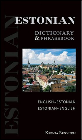 9780781809313: Estonian-English/English-Estonian Dictionary and Phrasebook (Hippocrene Dictionary & Phrasebooks)