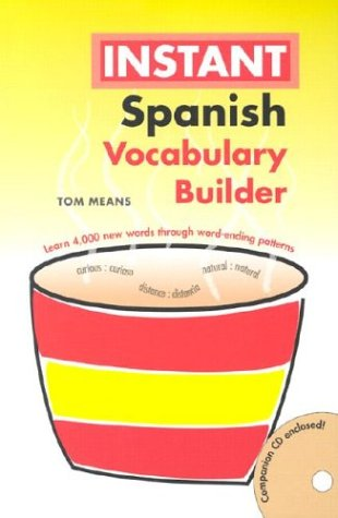 9780781809818: Instant Spanish Vocabulary Builder (Hippocrene Instant Vocabulary Builder)