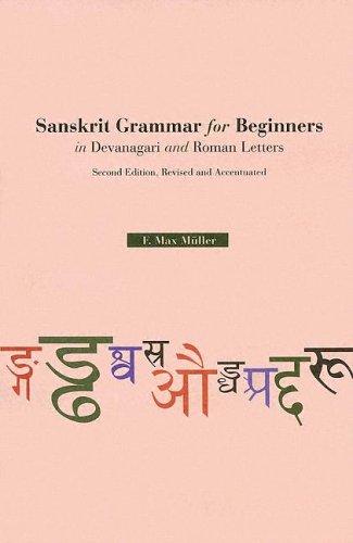 9780781810753: Sanskrit Grammar For Beginners in Devanagari and Roman Letters