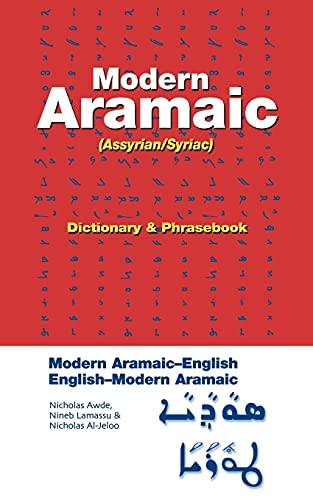 9780781810876: Modern Aramaic-English/English-Modern Aramaic Dictionary & Phrasebook: Assyrian/Syriac