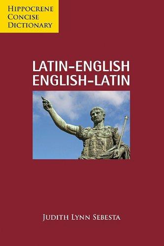 9780781811057: Latin-English/English-Latin Concise Dictionary (Hippocrene Concise Dictionary) (Latin, English and English Edition)
