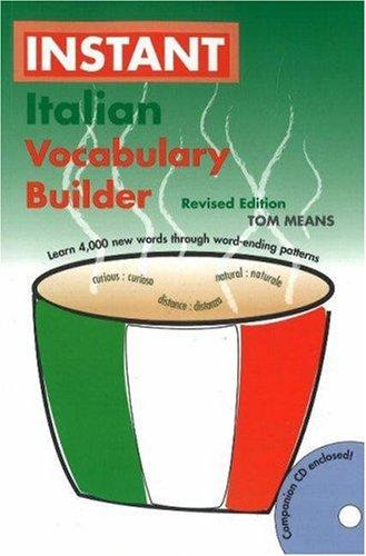9780781811699: Instant Italian Vocabulary Builder (Italian Edition)