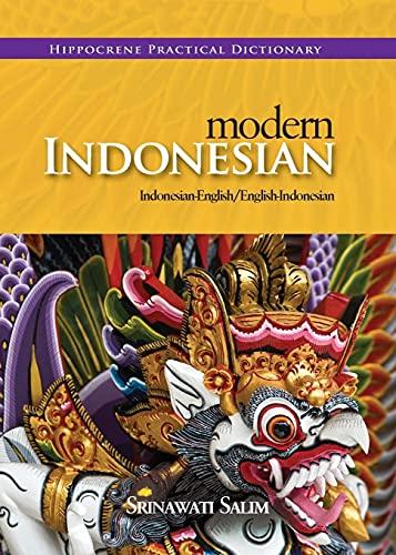Modern Indonesian: Indonesian-English/English-Indonesian: Salim, Srinawati