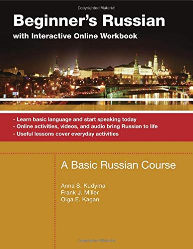 Beginner's Russian with Interactive Online Workbook: Anna Kudyma, Frank
