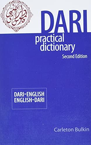 9780781812849: Dari-English/English-Dari Practical Dictionary, Second Edition