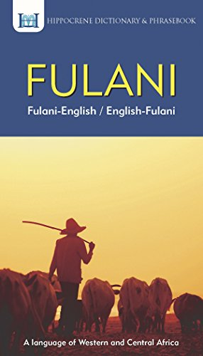 9780781813846: Fulani-English/ English-Fulani Dictionary & Phrasebook (Dictionaries)