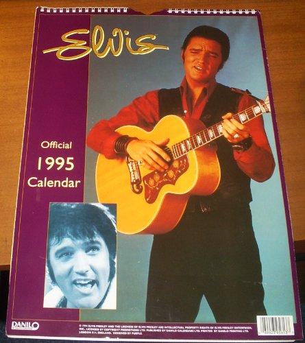 9780781906692: Elvis: Official 1995 Calendar