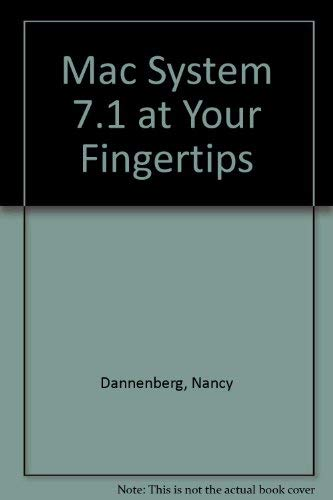 9780782112771: Macintosh System 7.1 at Your Fingertips (Sybex Macintosh library)