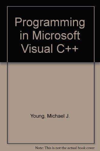 9780782112825: Programming in Microsoft Visual C++