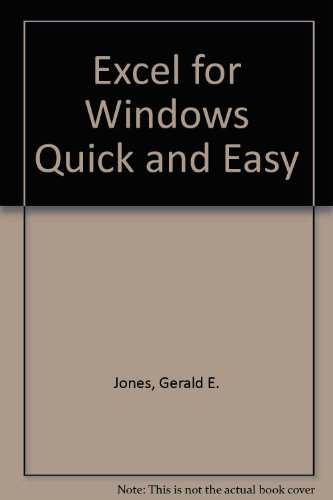 Excel for Windows: Quick & Easy