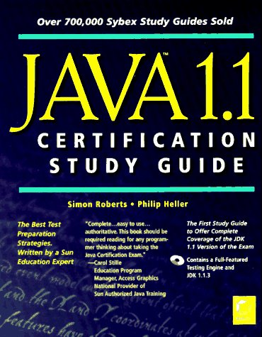 9780782120691: Java 1.1 Certification Study Guide