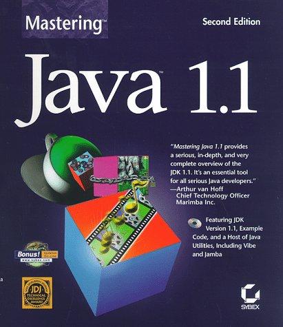 9780782120707: Mastering Java 1.1