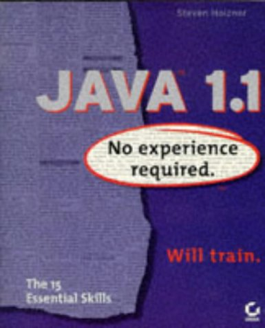 9780782120837: Java 1.1: No Experience Required