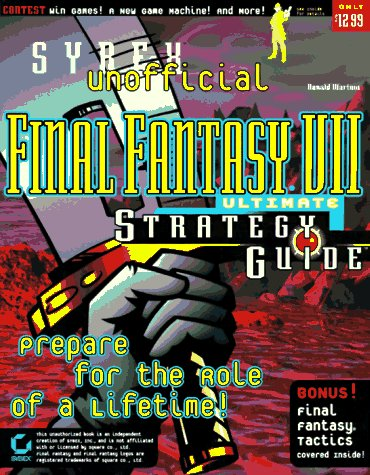 9780782121452: Final Fantasy VII Ultimate Strategy Guide (Unofficial)