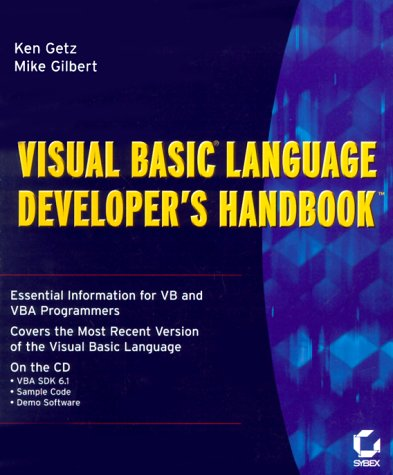 Visual Basic Language Developer's Handbook (9780782121629) by Ken Getz; Mike Gilbert