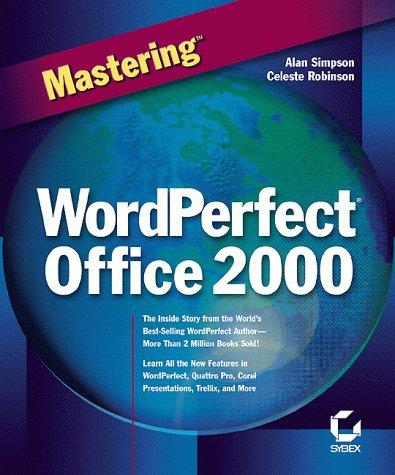 9780782121988: Mastering Wordperfect Office 2000