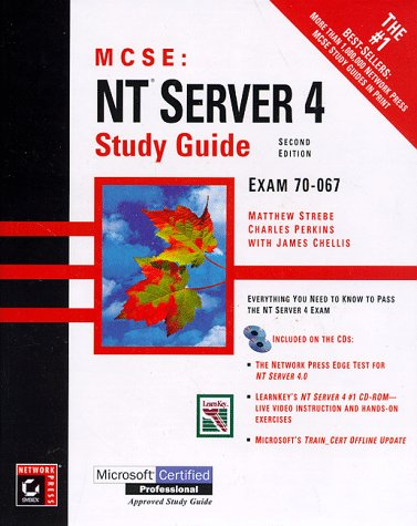 9780782122220: MCSE: NT Server 4 Study Guide, 2nd ed.