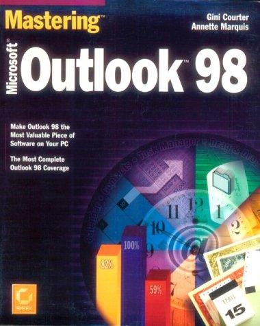 9780782122763: Mastering Microsoft Outlook 98