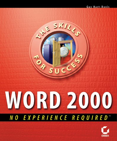 """Word 2000: No Experience Required (Skills for: Hartâ€""""Davis, G"""