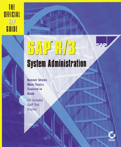 9780782124262: SAP R/3 System Administration : The Official SAP Guide