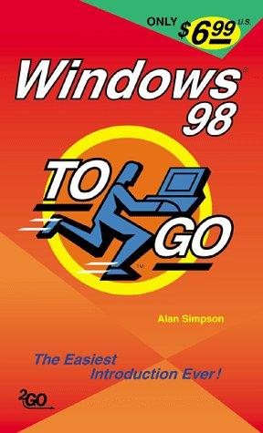 9780782124934: Windows 98 to Go