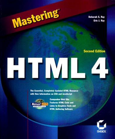 9780782125238: Mastering HTML 4