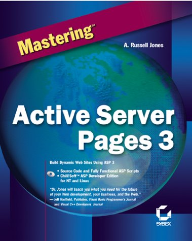 9780782126198: Mastering Active Server Pages 3