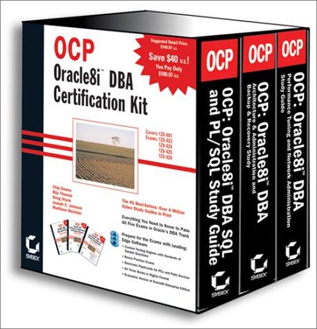 9780782126853: OCP: Oracle8i DBA Certification Kit