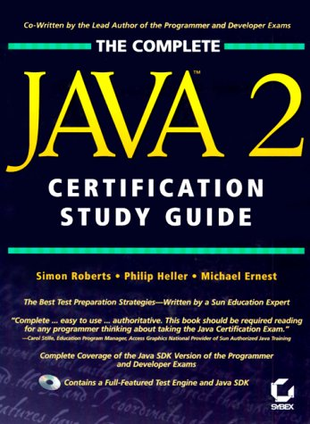 9780782127003: The Complete Java 2 Certification Study Guide
