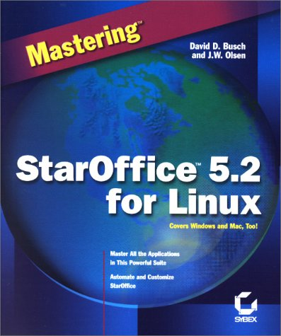 9780782127096: Mastering StarOffice 5.2 for Linux