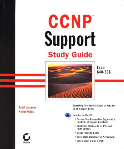 9780782127133: CCNP Support Study Guide Exam 640-506 (With CD-ROM)