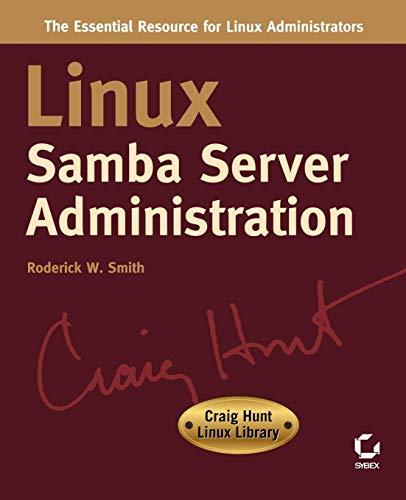 9780782127409: Linux Samba Server Administration