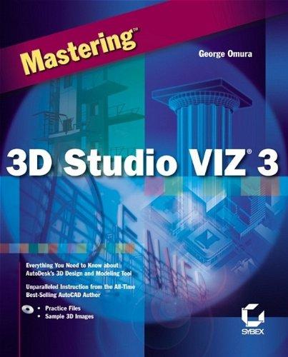 9780782127751: Mastering 3D Studio VIZ 3.0