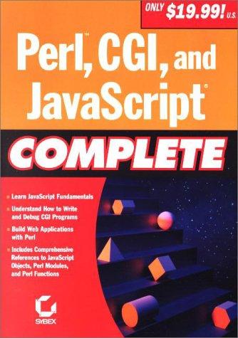9780782127805: Perl, CGI and JavaScript Complete