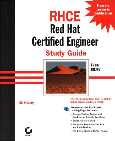 9780782127935: RHCE Red Hat Certified Engineer Study Guide Exam RH302 (With CD-ROM)