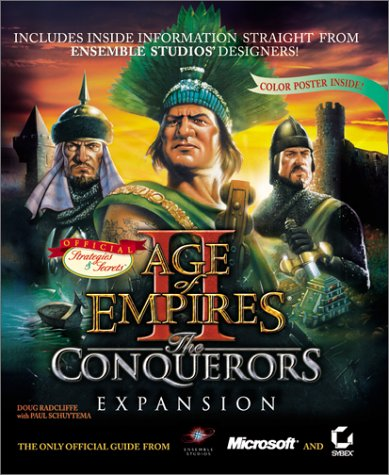 9780782128598: Age of Empires II: The Conquerors Expansion: Sybex's Official Strategies & Secrets