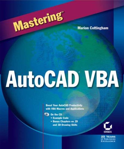9780782128710: Mastering Autocad Vba